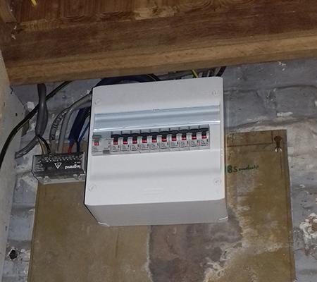 Rénovation électrique à La Bassée