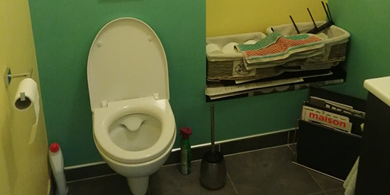 Pose de WC Lens, La Bassée